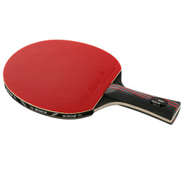 Table Tennis rackeT brand online shopping - 1x Brand Quality Carbon Fiber Table Tennis Racket Blade with Double Face Rackets Rubber Bat Boer With Bag Table Tennis Bat