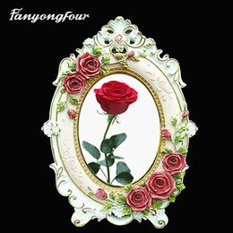 $enCountryForm.capitalKeyWord NZ - Rose Picture Frame Cake Mold Silicone Mold Chocolate Gypsum Candle Soap Candy Mold Free Shipping