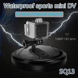 Hd sport camera wifi ip online shopping - New Waterproof IR Night Version HD P Mini Camera SQ13 WiFi Wireless Sport DV Digital Video Recorder IP Mini Camcorder