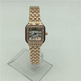 6b387f1e1601 Reloj de señora de cuarzo de moda elegante vestido de mujer Relogio famosa  marca de lujo Rosegold de acero inoxidable relojes de pulsera de oro  pequeños ...