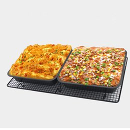 $enCountryForm.capitalKeyWord UK - Pan  molds for baking 1pc DIY square baking tray non-stick cake mold 8 inch square plate cake mold mould cooking