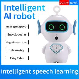 Vente en gros 2018 XiaoGu Étudiants AI Intelligent Robot Haut-parleurs App Controls Voice Intercom Lecture de musique Histoire Musique Wifi Connect Pour Childs Meilleur cadeau