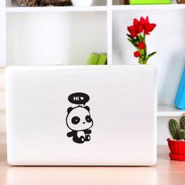 Panda mirror online shopping - hello panda cute cartoon pet fashion CAR FUE CAP sticker laptop sticker CA