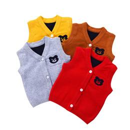 998ad295f Shop Baby Boy Sleeveless Sweaters UK
