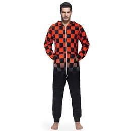 8dcc4622db31 Hombres Cálido Teddy Fleece Onesie Fluffy Sleep Lounge Ropa de dormir para adultos  Pijamas de una pieza Monos masculinos Con capucha de Onesies Hombres ...