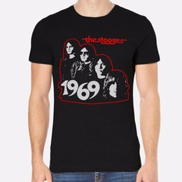 $enCountryForm.capitalKeyWord NZ - Tailored Shirts Graphic Crew Neck The Stooges Rock New Men T-Shirt Black Clothing 195 Short Sleeve Tees For Men