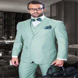 $enCountryForm.capitalKeyWord Canada - Latest Coat Pant Designs Mint Green Italian Suits Men Skinny Formal Prom Tuxedo Modern Gentle Custom 3 Piece Jacket