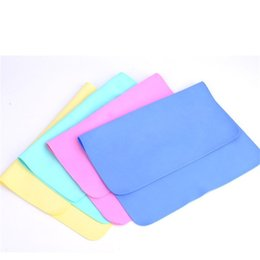 Wholesale car Wash drying toWels online shopping - Suede Towels Magic cm Water Uptake Multi Function Car Wash Scrub PVA Synthesis Chamois Towel Dry Hair Wipe Hands jj V