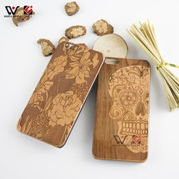 Designs For Iphone Cases Canada - Fashion new design style wood cellphone case for iPhone 6plus 6splus 6 6s s plus, luxury hard back cover for Apple i Phone