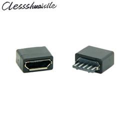 $enCountryForm.capitalKeyWord NZ - (10pcs lot) Type B Micro USB Female 5 Pin Jack Port Socket Connector Solder Type Repair Parts