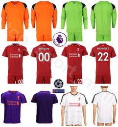 9dd4e2396 amazon 18 19 season men fc long sleeve goalkeeper soccer jersey alisson  becker 1 loris karius