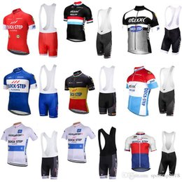 Discount maillot bib - 2018 QUICK STEP Hot Sale Men Breathable Cycling Short Sleeve Jersey Ropa Ciclismo Maillot Cycling Clothes Bike Bib Short