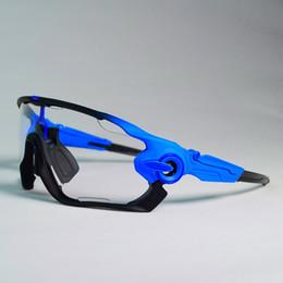 Sunglasses Multi Australia - Clear Photochromic Cycling Glasses Men Women Sports MTB Mountain Road Bike Bicycle Cycling Sunglasses Eyewear Protection Goggles