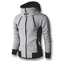 $enCountryForm.capitalKeyWord UK - 2017 Men Hoodies Sweatshirts Coats Hooded Jackets Men's Casual Fashion Slim Fit Hoodies Zipper Cloak Sudaderas Hombre Sportswear