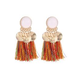 a555083b9a3f Wholesale Resin Earrings UK - bohemian statement earrings fashion jewelry  resin tassel earrings for women pendientes