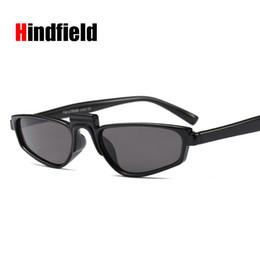 5577271e5b1 Hindfield2018 New Fashion Women Small Rectangle Sunglasses Popular Men  Yellow Tinted Lens Sun Glasses UV400 gafas de sol