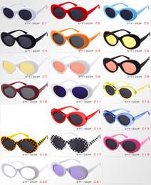 392860f821 Gafas Clout NIRVANA Gafas Kurt Cobain Clásico Retro Vintage Gafas de sol  ovaladas Sombras Gafas de sol Punk Rock Unisex Mujer Hombre
