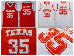 abb491d7888 ... new arrivals mens texas longhorns college ncaa 35 kevin durant jersey  orange white kevin durant stitched