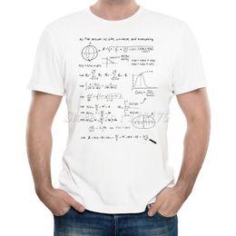 5edbbc7e 2017 Men 'S New Fashion The Math Answer Of Life Printed T -Shirt Summer  Cool Design Tops Soft Short Sleeve Tee