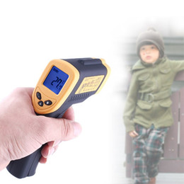 $enCountryForm.capitalKeyWord NZ - Non-Contact Laser Digital Thermometer LCD Display-50°C ~ 380°C IR Infrared C F Selection Forehead Body Surface Temperature GUN DT8380