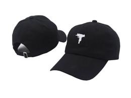 Discount gun cotton - Uzi Gun Baseball Cap US Fashion 2017 Snapback Hip hop Cap Men HEYBIG Curve visor 6 panel dad Hat casquette de marque