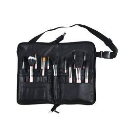 $enCountryForm.capitalKeyWord Australia - Portable PU Cosmetic Bag Women Fashion Lipstick Eye Shadow Makeup Brush Pouch Girl Travel Zipper Organizer Case Accessories Item