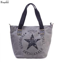 693f657c2 Bolsos de las mujeres de lona de gran capacidad hombro de lino Big Shopper  Bag Señoras de la vendimia bolso informal Lady Casual Shoulder Handbag
