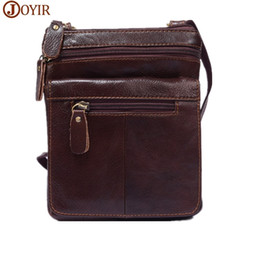 $enCountryForm.capitalKeyWord Canada - Men Shoulder Bag Genuine Leather Messenger Bag Small Male Man Crossbody Bags For Men Brand Designed Leather bags Handbags