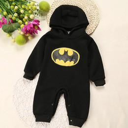 Wholesale Baby Outfit Romper Cartoon Bat Fleece General Newborn Baby Clothes Boys Clothes Suit Roupas de Bebe for Autumn R00123