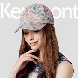 bdefa1fb5f2fa Kenmont Fashion Summer Autumn Women Snapback Print Baseball Cap Caps Hip  Hop Trucker Hats High Street Cap Sun Hat 2397