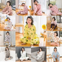 Discount raglan sleeves women - Coral Velvet Winter Women Pajama Sets Female Flannel Round Neck Cute Cartoon Camel White Letter Home Service Winter Warm