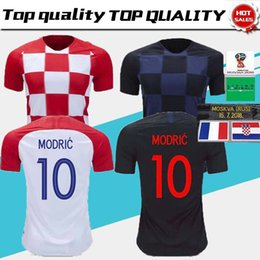 2900837b4b6 2018 World cup Designed for home Soccer Jersey MODRIC PERISIC RAKITIC  MANDZUKIC SRNA KOVACIC Red KALINIC Hrvatska Football Shirt