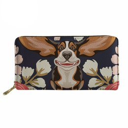 Forudesign Cute Corgis Printed Women Men Credit Id Card Holder Case Business Bank Cards Bag Leather Small Purse Carteira Mujer Luggage & Bags Coin Purses & Holders