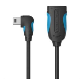Otg Cable For Tablet Pc UK - Vention OTG Cable Mini USB 90 Degree OTG Adapter for Tablet PC MP3 Cellphone  GPS Mobile Phone Cables