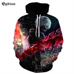 Cool Sweatshirt Jackets Canada - smile comic Anime Hoodies 3d Men Sweatshirts Cool Pullover Fashion Tracksuits Autumn Winter Male Outwear Boy Jackets Hoodie