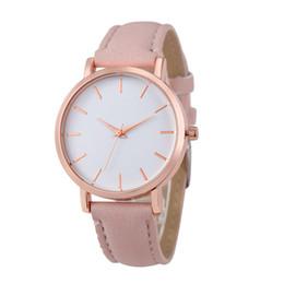 $enCountryForm.capitalKeyWord UK - 2018 New Women Luxury Leather Geneva Dress Watches man Unsex Watch Cheap Girls Wristwatches Gift Hours Geneva relojes mujer clock