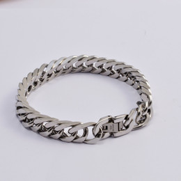 $enCountryForm.capitalKeyWord NZ - New Rope Chain Bangle Men's Bracelets Jewelry High Class Titanium Stainless Steel Bangle Fashional luxury Sliver Color Bangle Bracelet