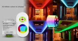 Discount max strip - Mi.Light FUT042 DC12V DV24V 433MHz RGB LED Strip controller with RF remote max 10A for 5050 3528 2835 RGB led strip ligh