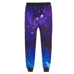 Cartoon 3d Sweatpants UK - 3D Printing Galaxy Joggers Men Women Funny Cartoon Sweat Pants Fashion Sweatpants Autumn Fall Winter Style Trousers Dropshipping