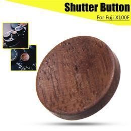 $enCountryForm.capitalKeyWord Australia - Camera Wooden Solid Wood Shutter Release Button for Fuji X100F FujiFilm X100F Consumer Electronics Camera Accessories