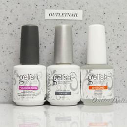 Harmony gelisH online shopping - Gelish Harmony Base Coat Top Coat Soak Off Gel Polish Colors Uv Nail Gel For Salon