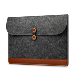 "Chinese  2017 New Fashion Laptop Sleeve 13.3"" Ultra Slim Wool Felt Sleeve Case 11""13""15"" for Macbook AIR 11.6 13.3 Pro 13 Retina 15.4"" manufacturers"