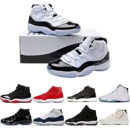 e6c0512aa67f Men Basketball Shoes 11 11s Concord 45 Platinum Tint Cap and Gown Gym red  Gamma Blue Bred women sneaker sports trainers shoes size 5-13