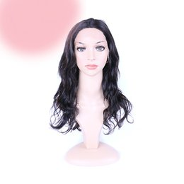 $enCountryForm.capitalKeyWord UK - Fashion top grade new 100% unprocessed virgin remy human hair long natural color big curly full lace cap wig best for women
