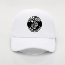 942209bc3ab Latest model Baseball cap SAMCRO Men Cap Cool Summer Hip Hop hat SOA Sons  of Anarchy for Reaper Crew Fitted Adjustable hat