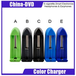 Discount trustfire dual battery charger 18650 18350 Battery Single Slot Chargers Universal Colorful Chargers VS Dual Slots Charger Trustfire TF 001 005 Xtar VC2