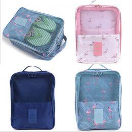 Storage Boxes & Bins Popular Brand Portable Shoes Storage Travel Bag Shoes Case Organizer Tote Bag Evident Effect