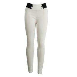 $enCountryForm.capitalKeyWord Australia - Long button Gym Tights Women Stitching Womens Leggings Gym Solid Pants For Women training femme#YL