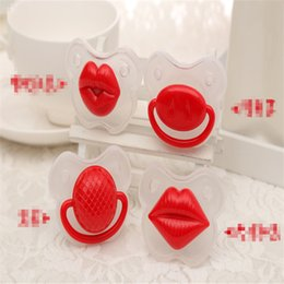 $enCountryForm.capitalKeyWord NZ - Cute Funny Dummies Pacifier Baby Novelty Maternity Toddler Child Teething Nipples funny Lip Pacifiers K0283