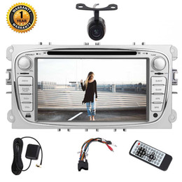 Ford Touch Screen Stereo Australia - Eincar For Ford Focus Car dvd Stereo Double din GPS Navigation Android 7.1 Stereo Octa-core 32G 7''Car Radio Stereo USB SD FM